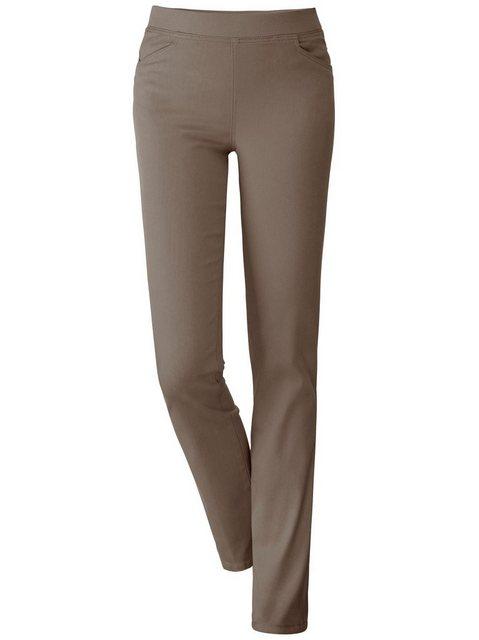 Hosen - Classic Basics Stretch Jeans › grün  - Onlineshop OTTO