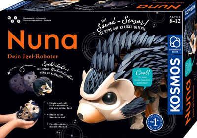 Kosmos Modellbausatz »Nuna - Dein Igel-Roboter«, mit Soundsensor