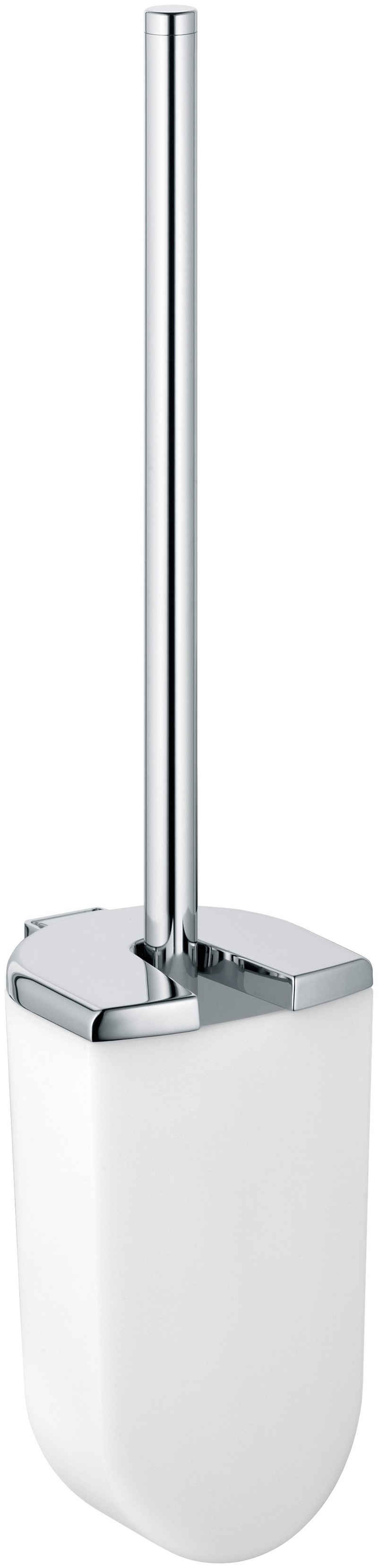 WC-Garnitur »Elegance«, Keuco, Opak-Kunststoff mattiert, mit Metall-Deckel
