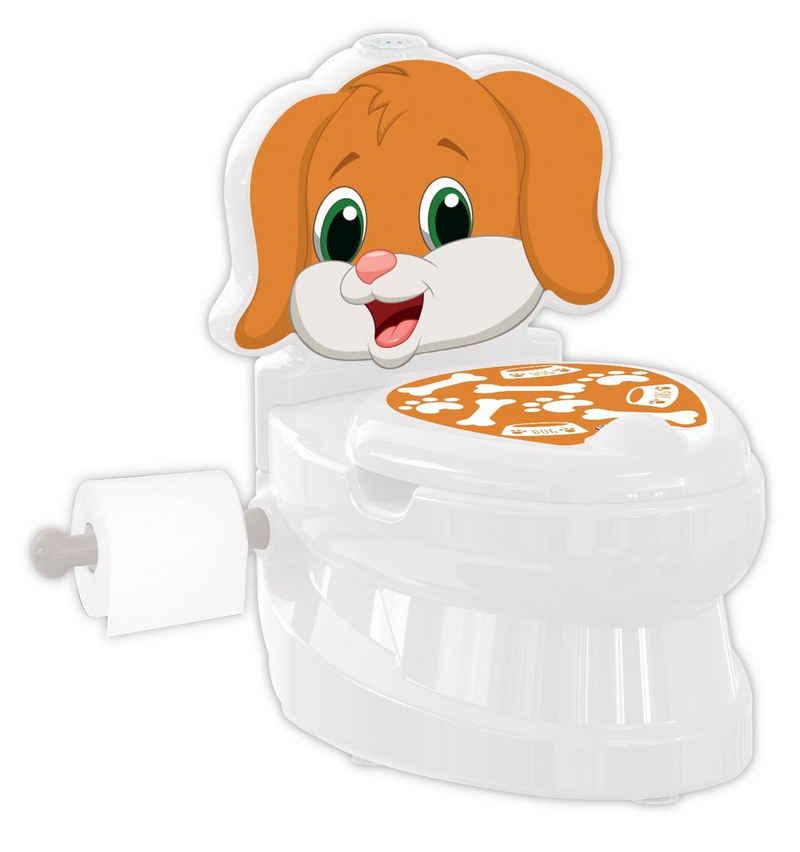 Siva Toilettentrainer »WC Potty Dog Hund Toilettentrainer Kinderklo Lern«, (Set)