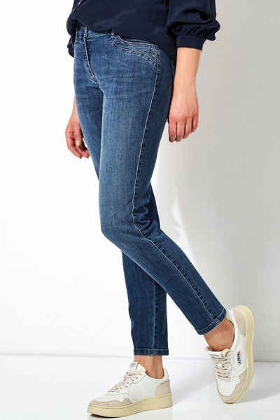 TONI Skinny-fit-Jeans »Perfect Shape« mit edler Schmückung