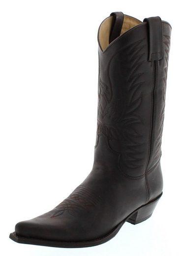 FB Fashion Boots »BU1006 Marron Westernstiefel Braun« Cowboystiefel