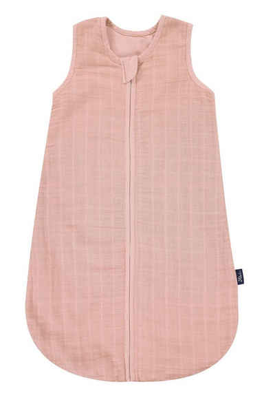 Alvi® Babyschlafsack »Alvi Mull-Schlafsack Uni pink«