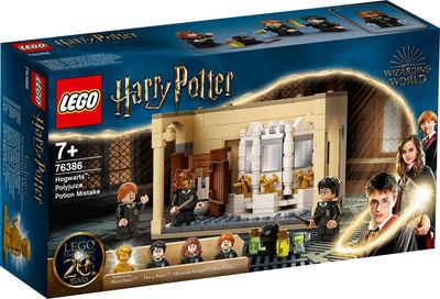 LEGO® Konstruktionsspielsteine »Hogwarts™: Misslungener Vielsaft-Trank (76386), LEGO® Harry Potter™«, (217 St), Made in Europe