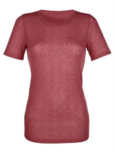 Laura Kent Shirt in strukturierter Qualität