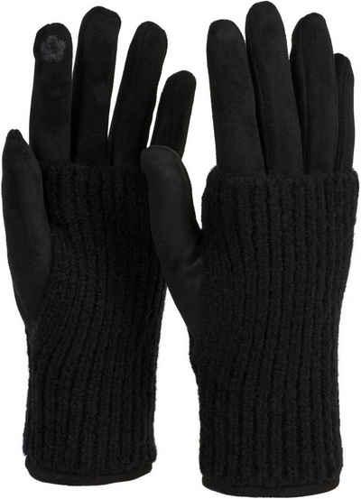 Dick Winter Handschuhe Damen Herren Fingerhandschuhe Touchscreen Wasserdicht Neu