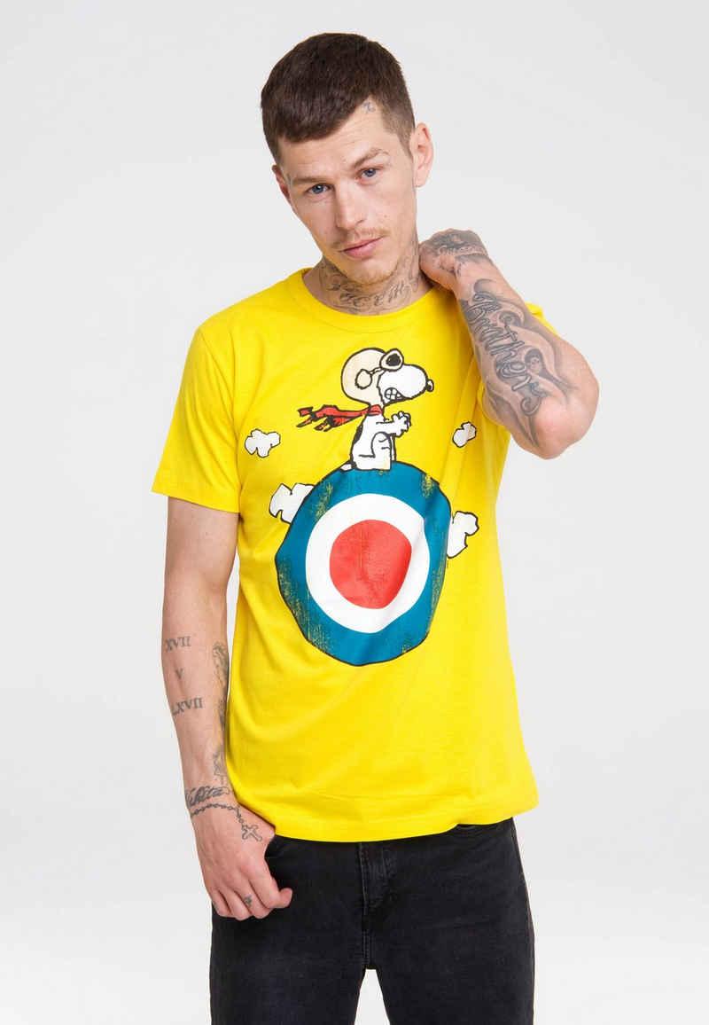 LOGOSHIRT T-Shirt mit lizenziertem Print