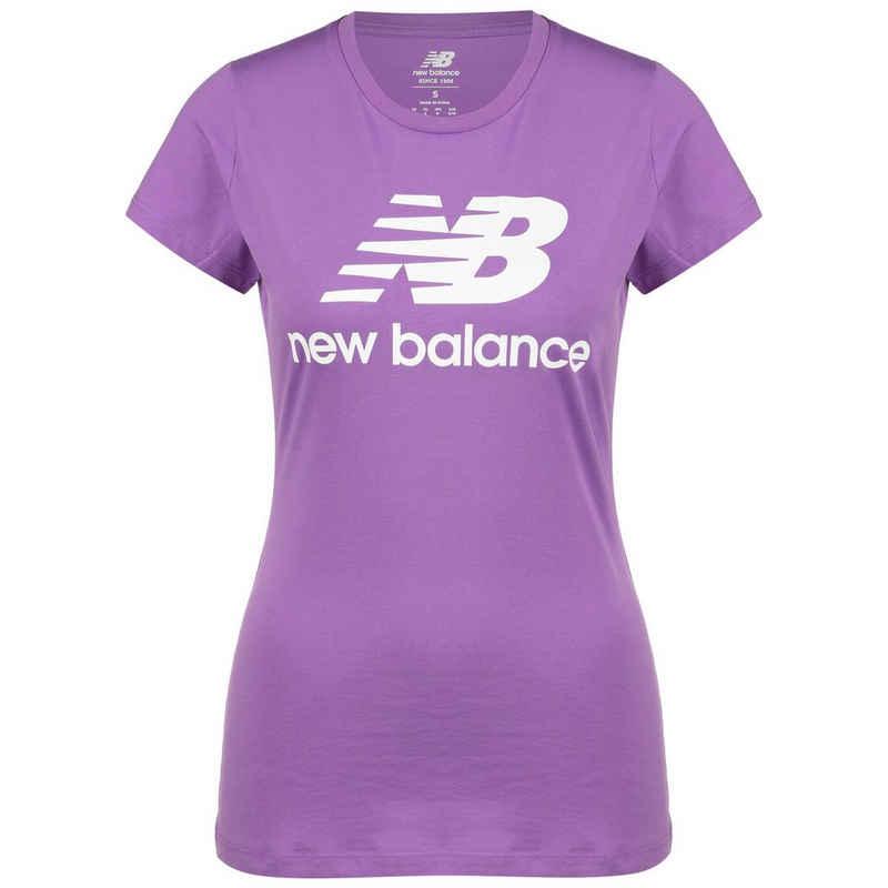 New Balance T-Shirt »Essentials Stacked Logo«