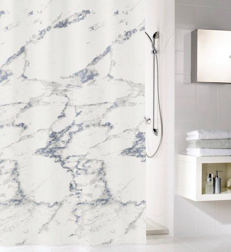 Kleine Wolke Duschvorhang »Marble« Breite 120 cm (1-tlg), Höhe 200 cm, mit Beschwerungsband