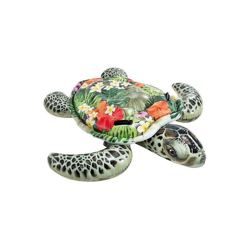 Intex Schwimmtier »Schwimmtier Schildkröte RideOn Sea Turtle, 191 x«