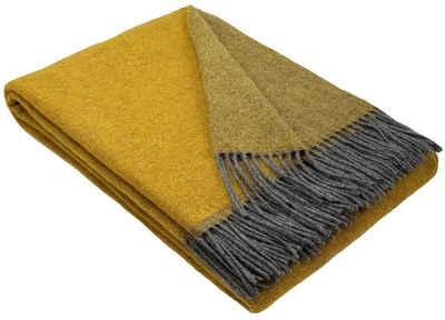 Wolldecke »Wohndecke Merinowolldecke Wolldecke Plaid 140 x 200 cm Doubleface in vielen Farben erhältlich«, STTS