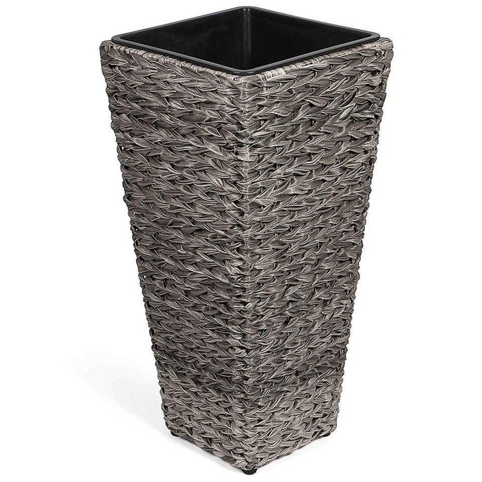 park alley kunststoff pflanzk bel blumenk bel f r. Black Bedroom Furniture Sets. Home Design Ideas