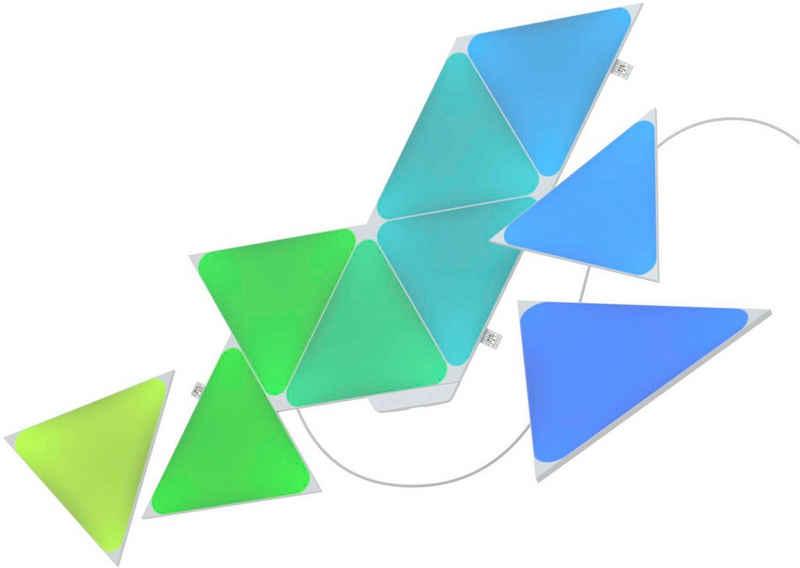 nanoleaf LED Panel »Nanoleaf Shapes Triangles Starter Kit - 9PK«