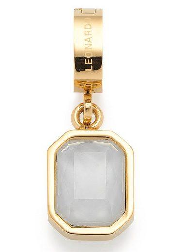 LEONARDO Charm-Einhänger »Carola Darlin's, 017978«, mit Kristallsteinen