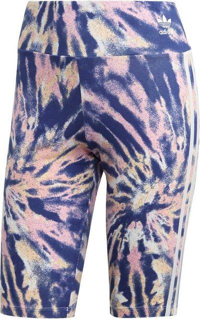Hosen - adidas Originals Radlerhose »ADICOLOR BIKE SHORT« › lila  - Onlineshop OTTO