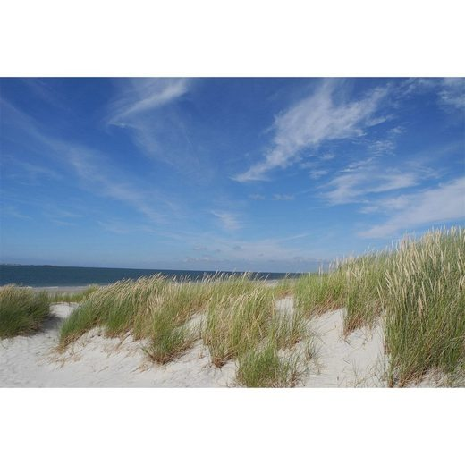 HTI-Line Glasbild »Glasbild Beach«, Wandbild