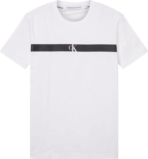 Calvin Klein Jeans T-Shirt »HORIZONTAL CK PANEL TEE«
