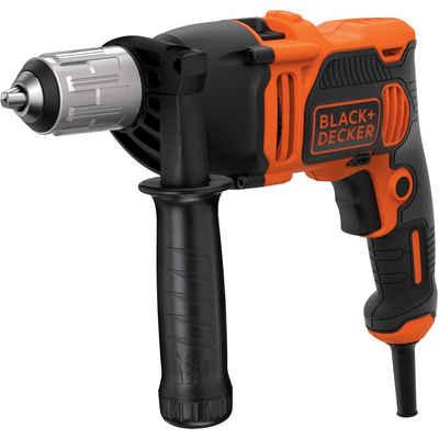 Black + Decker Schlagbohrmaschine »Schlagbohrmaschine BEH850-QS, 850W«