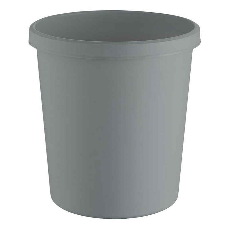 HELIT Papierkorb »the green german«, 18 Liter, aus recyceltem Kunststoff