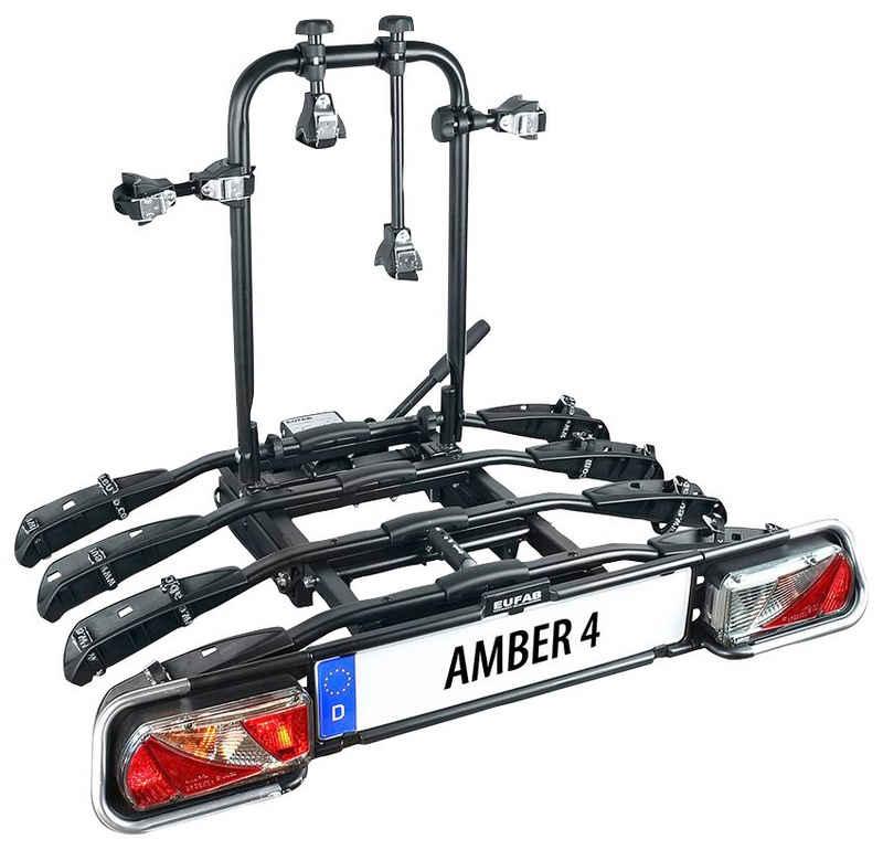 EUFAB Kupplungsfahrradträger »AMBER 4«, für max. 4 Räder