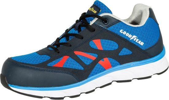 Goodyear »1633 Goodyear S1P blau/schwarz/rot« Sicherheitsschuh S1P