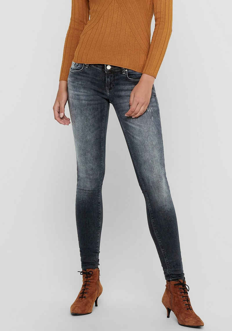 Only Skinny-fit-Jeans »ONLCORAL LIFE SL SKINNY« mit Destroyed Details
