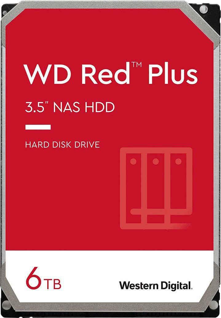 Western Digital »WD Red Plus« HDD-NAS-Festplatte (6 TB) 3,5)