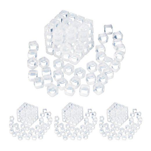relaxdays Eiswürfelform »400 x Wiederverwendbare Eiswürfel«