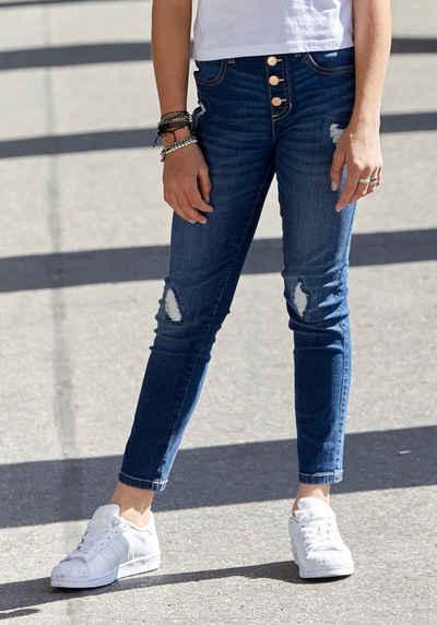 Arizona Mom-Jeans in Schlupfform