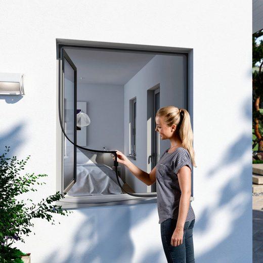 Insektenschutz-Fenster, BxH: 100x120 cm