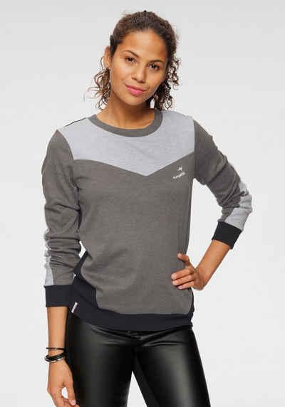KangaROOS Sweater in harmonischem Colorblocking-Design