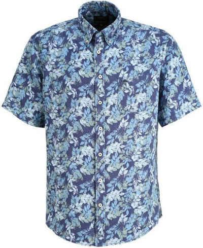 FYNCH-HATTON Kurzarmhemd aus Leinen