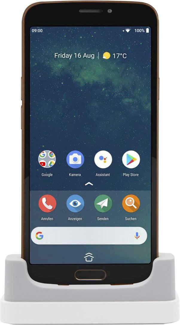 Doro 8080 Smartphone (14,48 cm/5,7 Zoll, 32 GB Speicherplatz, 16 MP Kamera)