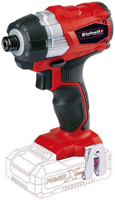 Einhell Akku-Schlagbohrschrauber TE-CI 18 Li Brushless Solo , max. 2900 U min, Power X-Change, ohne Akku und Ladegerät