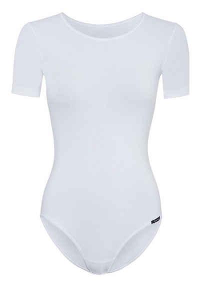 Skiny Body »Damen Body - Kurzarm, Rundhals, Cotton Stretch,«