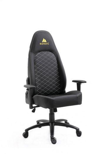 ebuy24 Gaming Chair »Nordic Executive Assistant Gamin Stuhl schwarz.«