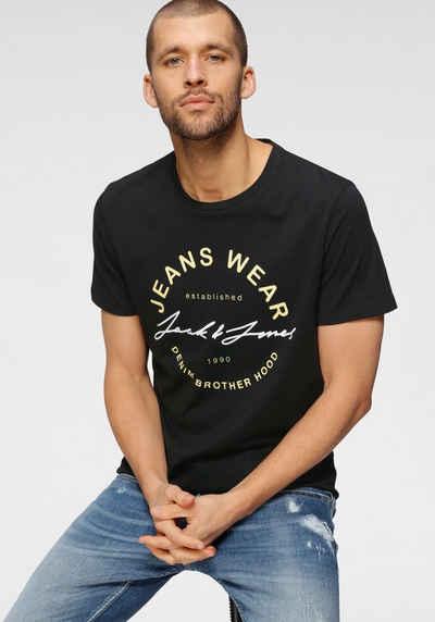 Jack & Jones T-Shirt »MOON TEE CREW NECK«