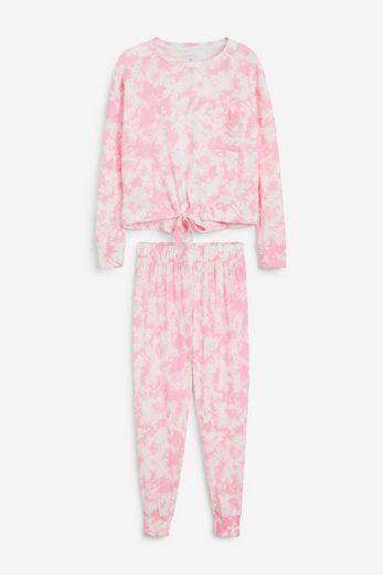 Next Pyjama »Pyjama aus Baumwolle« (2 tlg) Long Set