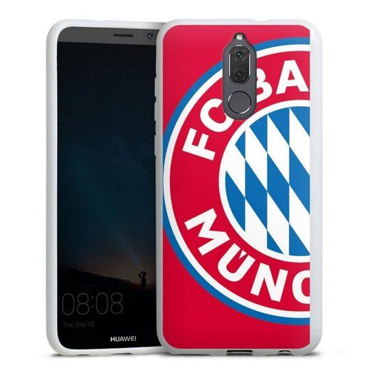 DeinDesign Handyhülle »Großes FCB Logo Rot« Huawei Mate 10 lite, Hülle FC Bayern München Offizielles Lizenzprodukt FCB