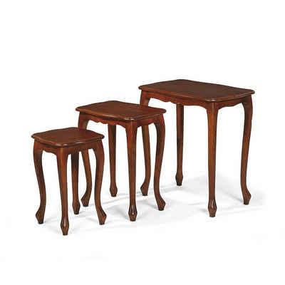 Pharao24 Tisch »Aschau« (3-St), aus Massivholz
