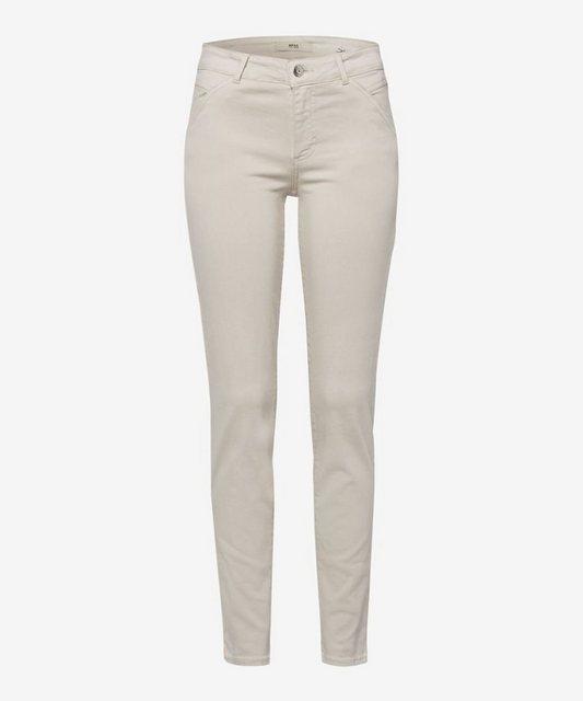 Hosen - Brax 5 Pocket Jeans »Style Shakira« › beige  - Onlineshop OTTO