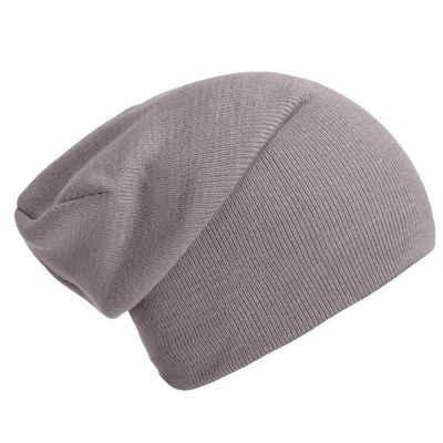DonDon Beanie »Schlauchmütze Mütze« (1-St) Wintermütze, klassischer Slouch-Beanie