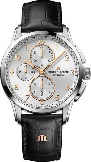 MAURICE LACROIX Chronograph »Pontos Chronograph Date, PT6388-SS001-220-2«