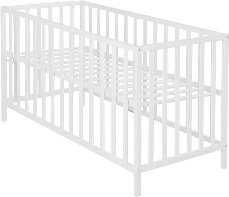 roba® Babybett »Cosi, weiß«, Liegefläche 60x120 cm