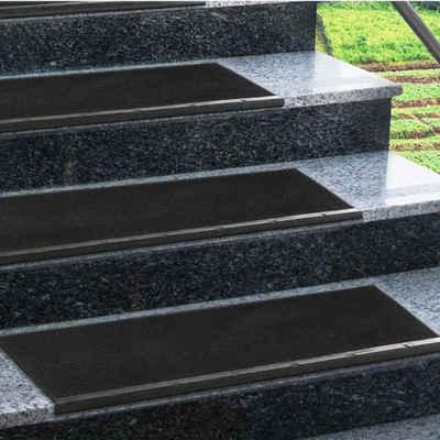 Stufenmatte »Santiago«, Kubus, rechteckig, aus Gummi