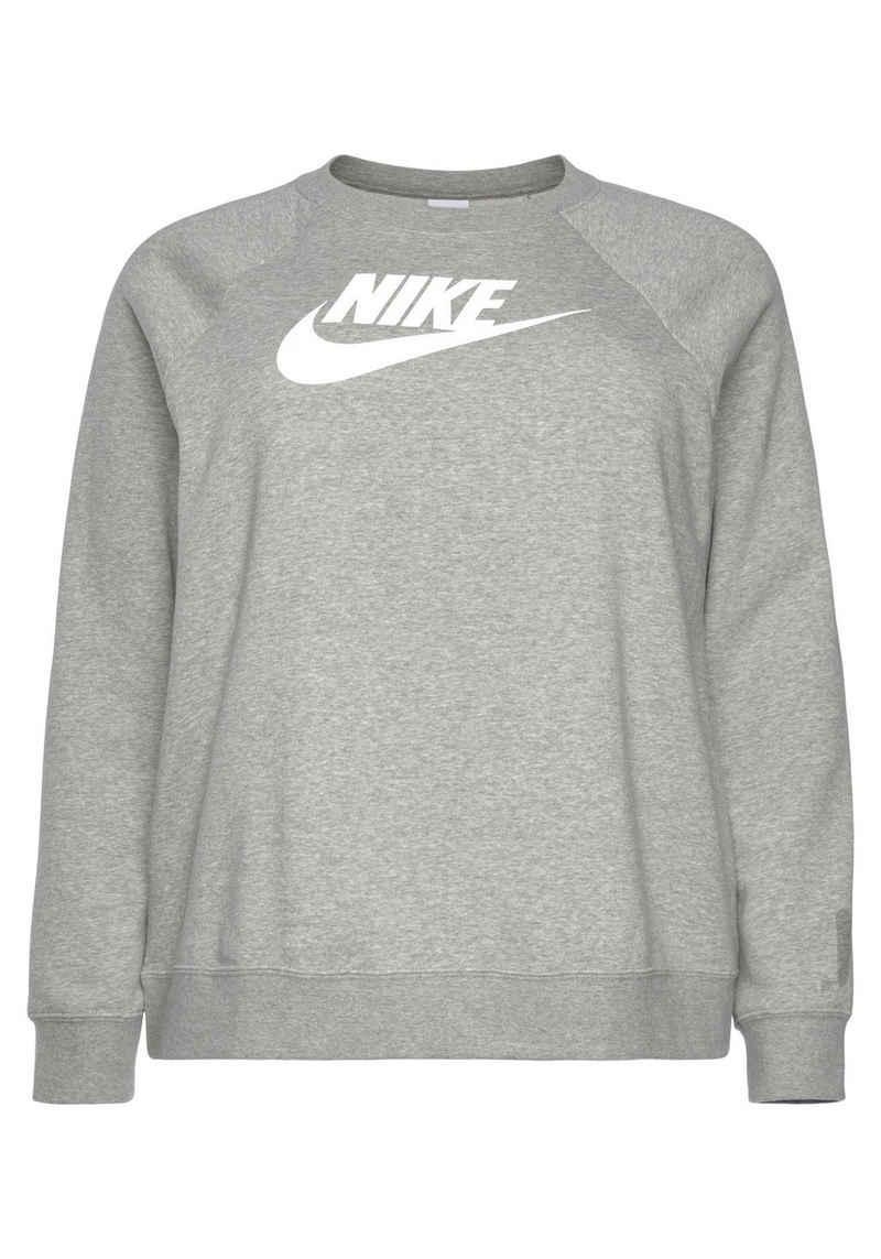Nike Sportswear Sweatshirt »ESSENTIAL WOMENS FLEECE CREW (PLUS SIZE)«