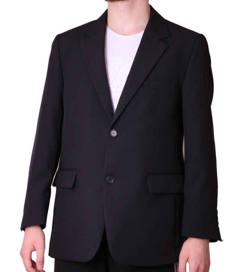 Studio Coletti Sakko »STUDIO COLETTI Anzugs-Jacke stilbewusstes Jackett Herren Sakko mit Pattentaschen Kurzgrößen Business-Jackett Blau«