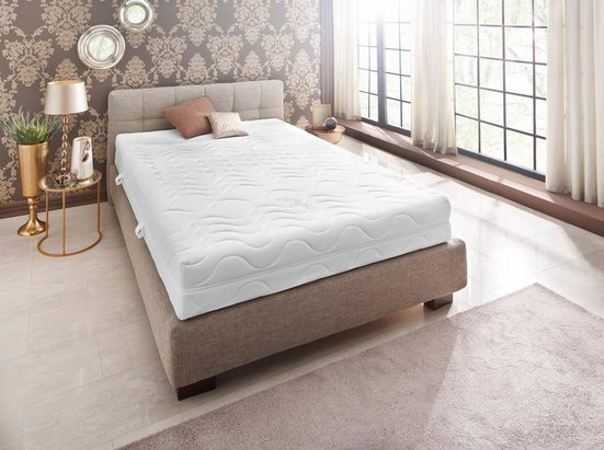 Komfortschaummatratze »Premium Cool Plus«, Beco, 25 cm hoch, Raumgewicht: 28, Alles preisgleich: 4 Härtegrade und 5 Größen