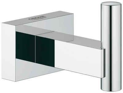 Handtuchhaken »Essentials Cube«, Grohe, mit Grohe StarLight Oberfläche, verchromt, rostfrei