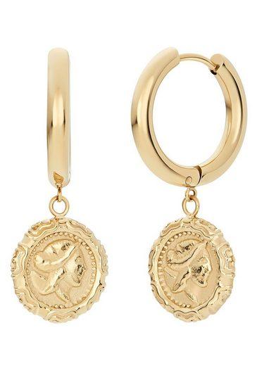 Noelani Paar Creolen »Greek Coin, 2030642«